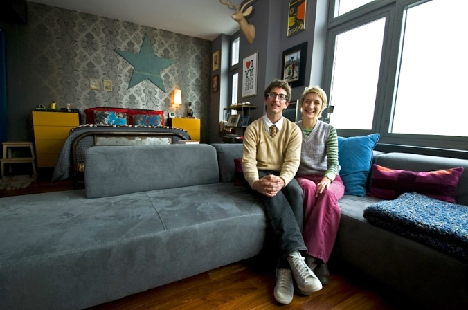 Owners of a house rented by airBnB