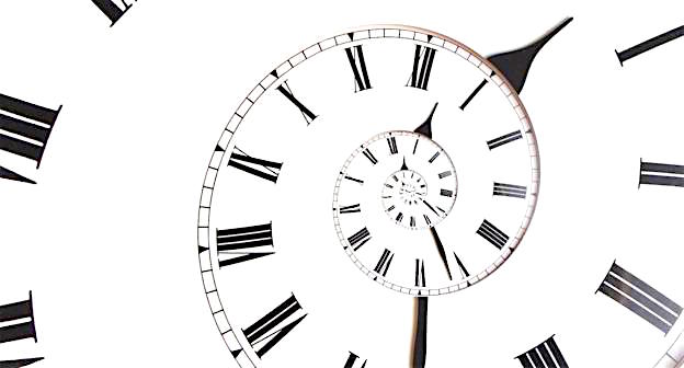 Spiralling Clock